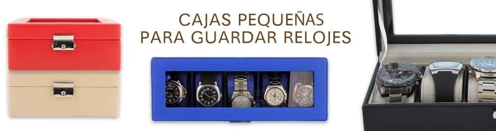 Cajas relojes pequeñas