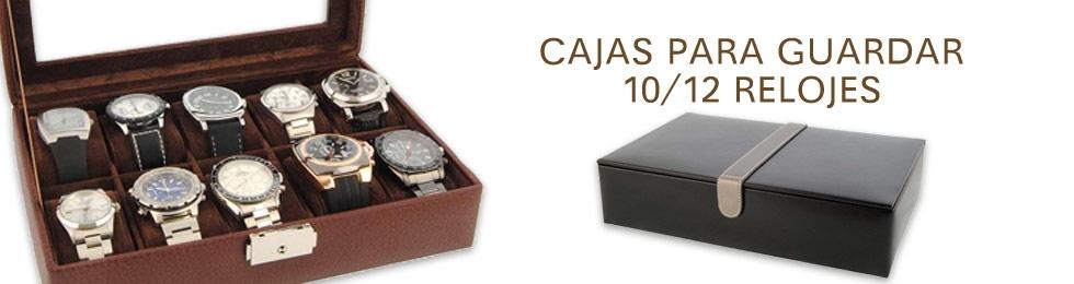 Cajas para 10-12 relojes