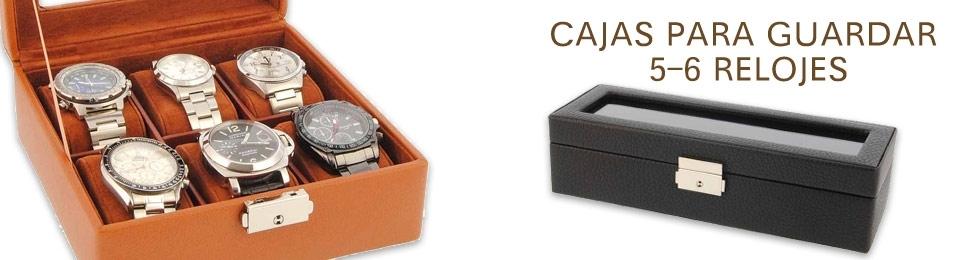 Cajas para 5-6 relojes